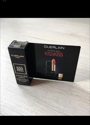 Новая красная помада миниатюра guerlain the original french kiss
