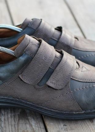 Туфли на липучке joseph seibel