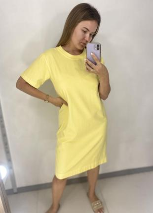 Платья футболка 95% котон 5% еластан