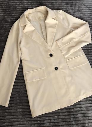 Летний лёгкий пиджак жакет блейзер