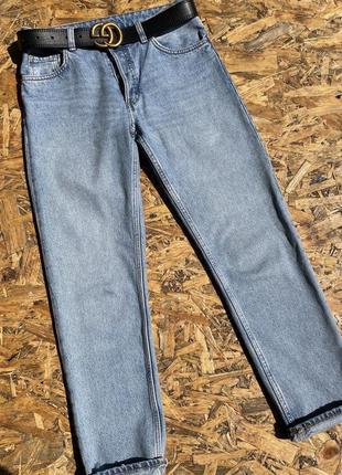 Крутые синие классические джинсы 👖