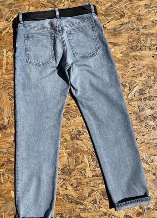 Крутые синие классические джинсы 👖3 фото