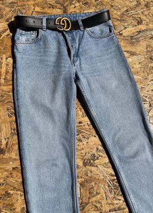 Крутые синие классические джинсы 👖2 фото