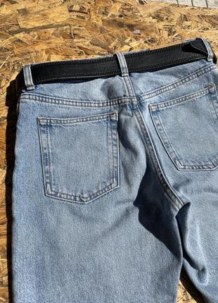 Крутые синие классические джинсы 👖4 фото