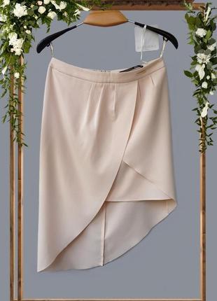 Эффектная ассиметричная юбка love republic
