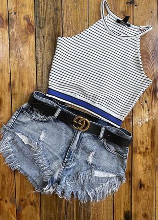 Модные джинсовые шорты 🩳