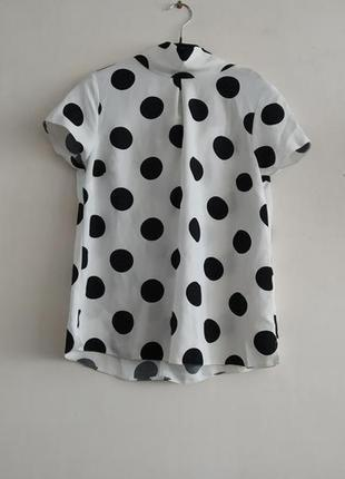 Блуза в горошек dorothy perkins
