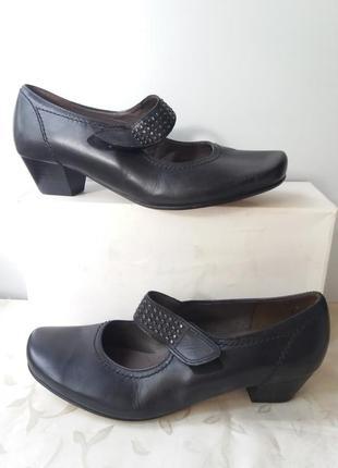 Туфли натуральная кожа  женские
