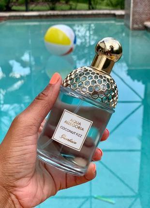 Guerlain aqua allegoria coconut fizz.75 мл, парфюмированная вода. оригинал!