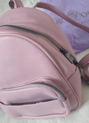 🌸orsoro🌸 италия рюкзачок розовый для города новый🌺🎒🦄