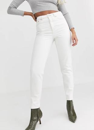 Красивые белые базовые джинсы скинни от zara z1975 basic dept  1+1=3 на всё 🎁