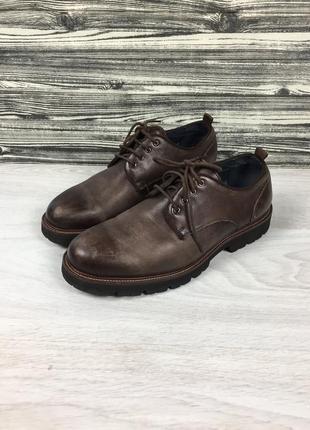 Фирменные кожаные туфли bata bally italy легкие