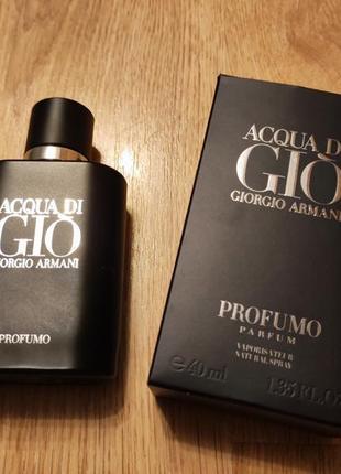 Мужские крутые духи. парфюм acqua di gio profumo