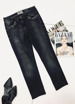 Новые джинсы с потертостячми и декором на карманах от cecil 1+1=3 на всё 🎁