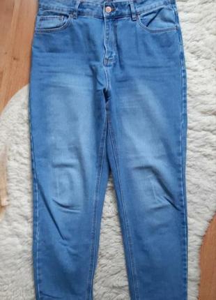 Котоновые мом джинсы