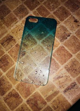 Чехол на iphone 5/5s/se 1 поколения пластик