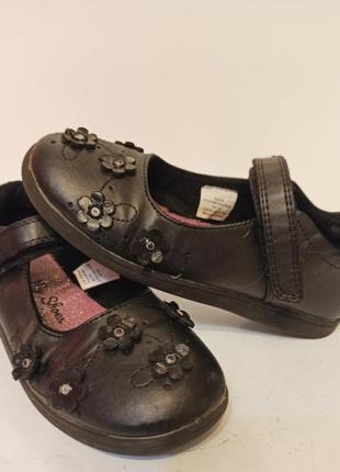 19cm фирменные туфли босоножки тапочки для девочки