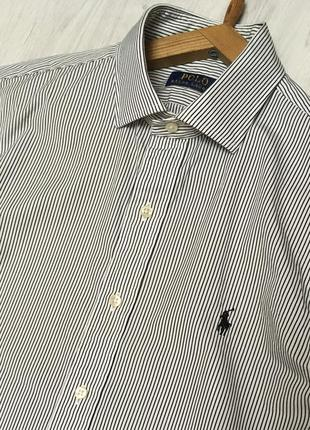 Рубашка в полоску polo ralph lauren оригинал