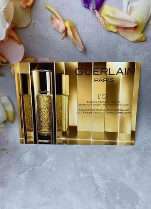 Guerlain основа для макияжа  lor radiance concentrate with pure gold