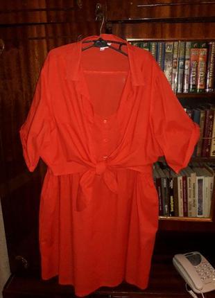 Туника блузка новая 58-64 размер. плюс подарок.