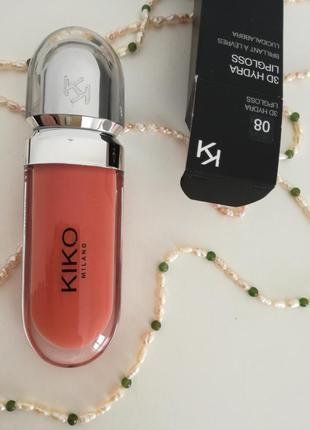 Блеск для губ kiko milano 3d hydra lipgloss 083 фото