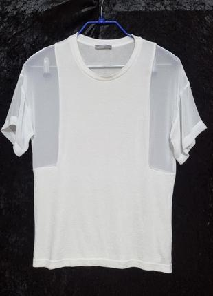 Красивая футболка-блуза zara, р.s