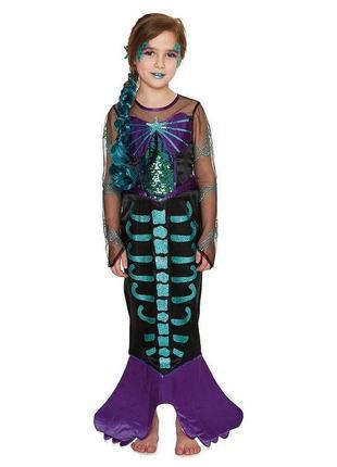 Русалочка ариэль зомби 5-6 лет костюм карнавальный хеллоуин