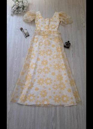 Винтажное платье 💛💛💛 сукня ретро