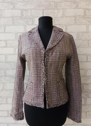 Идеальный шёлковый блейзер, пиджак