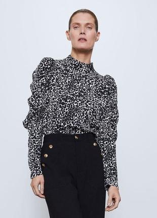 Легкая блуза zara