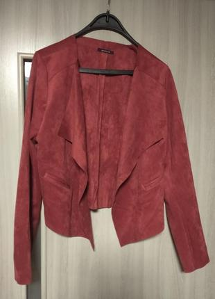 ❤️замшевая пиджак куртка накидка