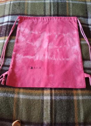 Рюкзак рюкзачок тканевый