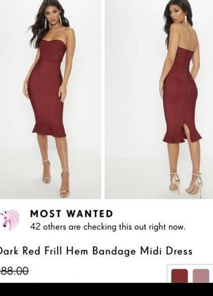 Бандажна сукня. бандажное платье2 фото