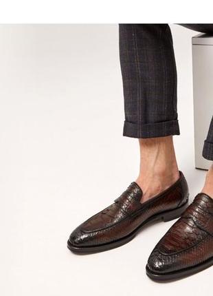 Муржские туфли лоферы