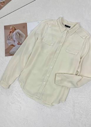 Рубашка из 100% шелка