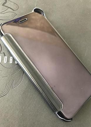 Зеркальный чехол книжка iphone 6.6s