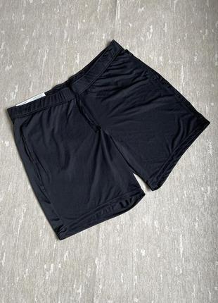 🔥скидки🔥 шорты чёрные спортивные большой размер crivit