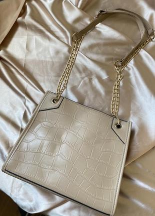 Сумочка сумка бежевая