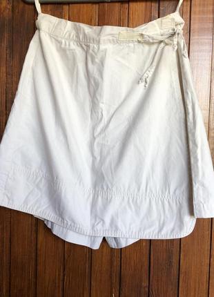 Светлые шорты бермуды юбка-шорты