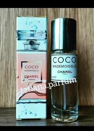 Coco mademoiselle тестер 40 мл, тестер, мини парфюм, парфюмированная вода, туалетная вода