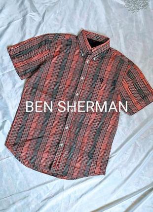 Ben sherman. оригинал!   тенниска из хлопка р м