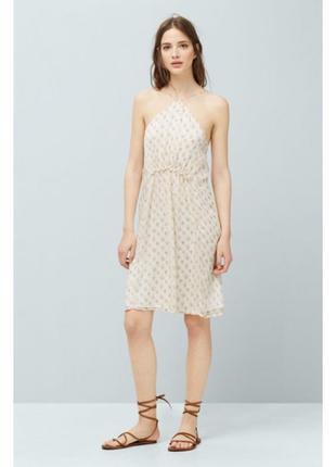 Легкое платье mango xs, s, m. сукня плаття манго