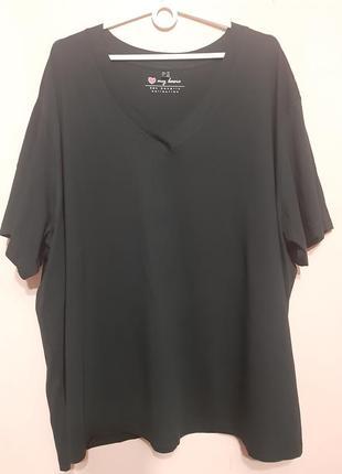 Базовая футболка большой размер 62-66