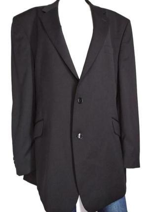 Черный базовый оверзайз классика пиджак с мужского плеча от centaur