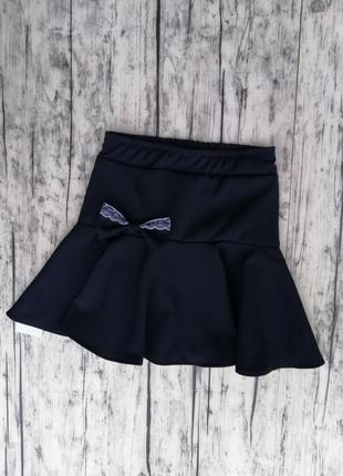Симпатичная школьная юбка