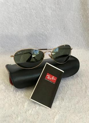 Ray ban, оригинал, очки  солнцезащитные в футляре. унисекс.