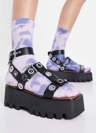 Босоножки сандали на платформе asos
