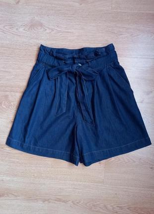 Стильная юбка - шорты с поясом