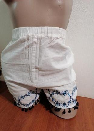Женские летние шорты лёгкие хлопок