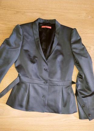 Стильный фирменный пиджак, жакет, шерсть, р.38,40